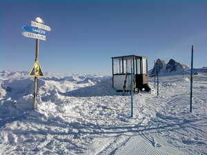 Link to La Grave, view from the top of La Lauze, Les Deux Alpes photo