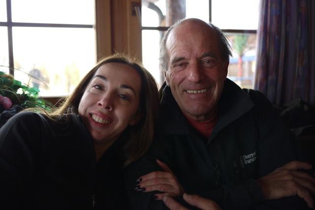 Maria and Tony, Davos