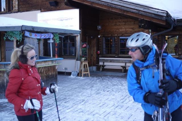 Holly and Tony, Davos