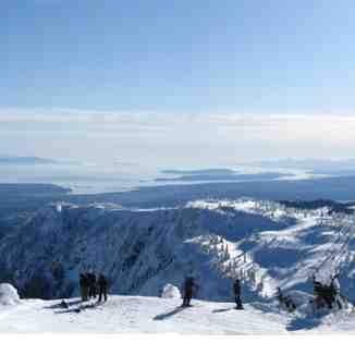 top of eagle lift, Mount Washington