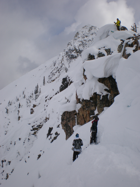 Looking for lines, Kicking Horse