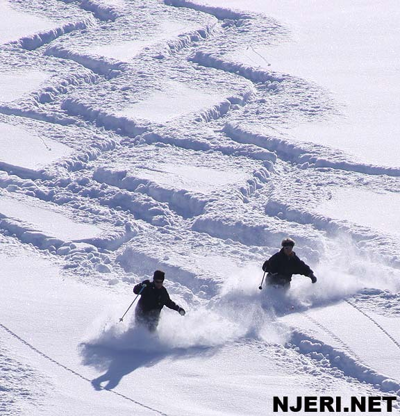 Brezovica powder snow skiing