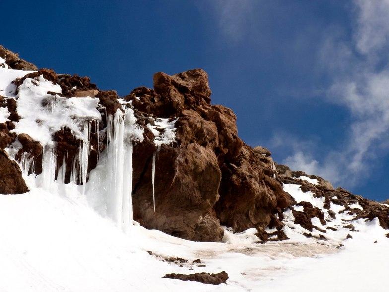 Views in Damavan mount, Mount Damavand