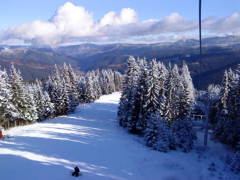 view from lift, Chepelare