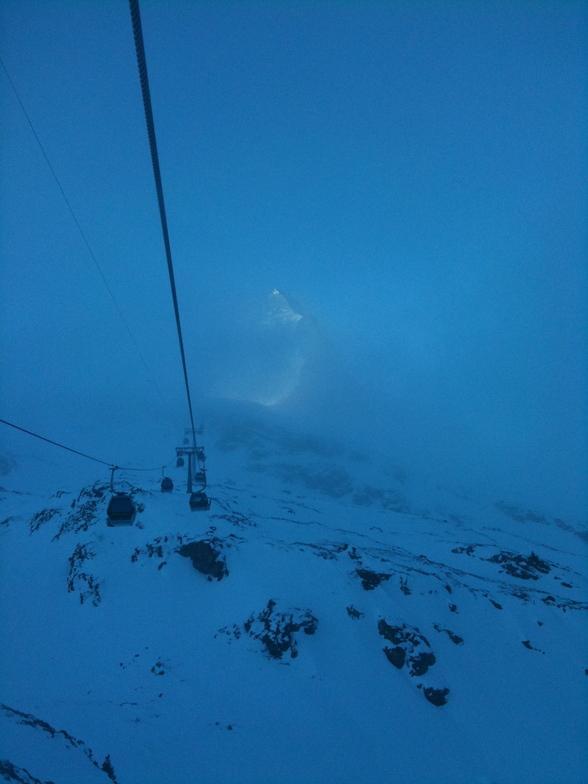 Early morning mist, Zermatt