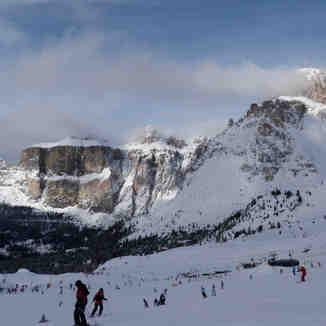 Belvedere ski area, Canazei