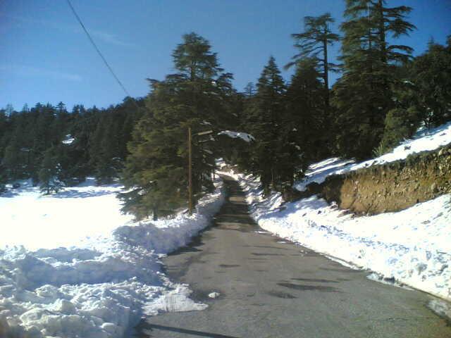 Michlifen snow