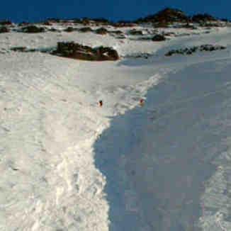ali saeidi avalanche in Tochal