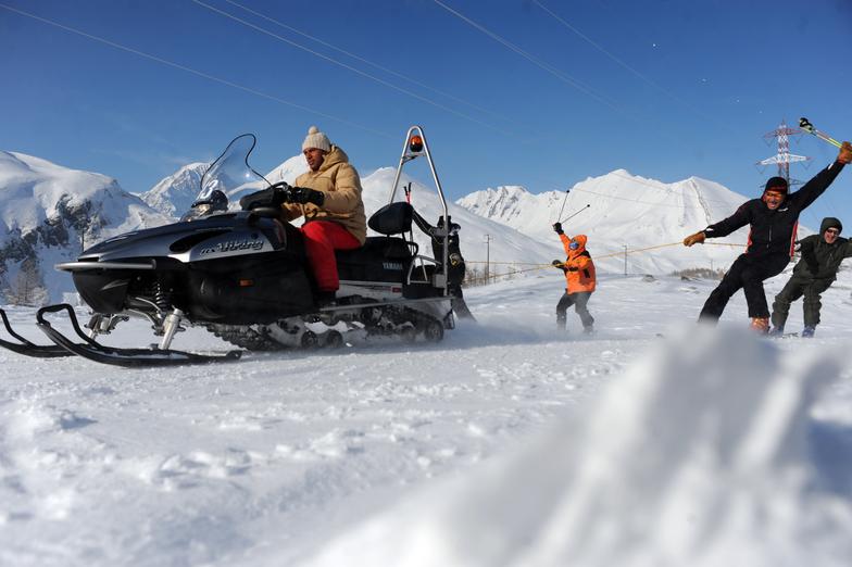 snowmobile, La Thuile