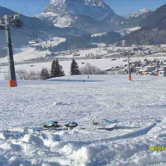 under the chair lift, Kirchdorf