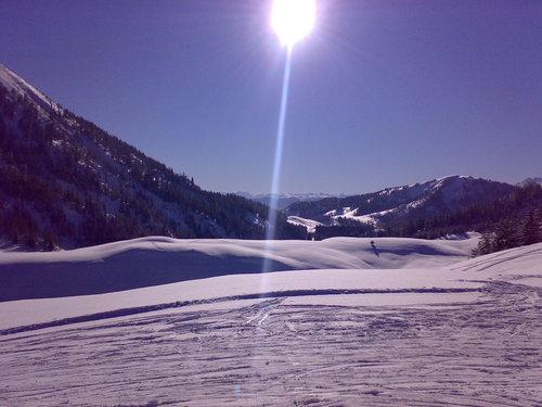 Strobl at the Wolfgangsee/Postalm Ski Resort by: maskin