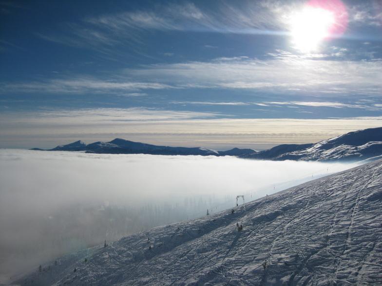 Drahobrat Skiing