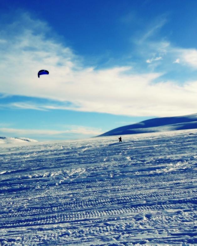 ski kite, Erciyes Ski Resort