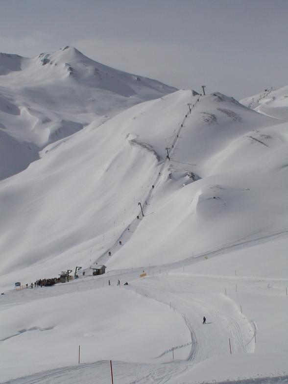 Serfaus snow