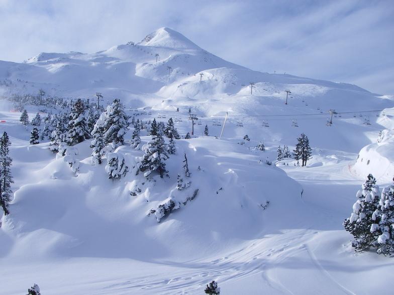 La Pierre Saint Martin snow
