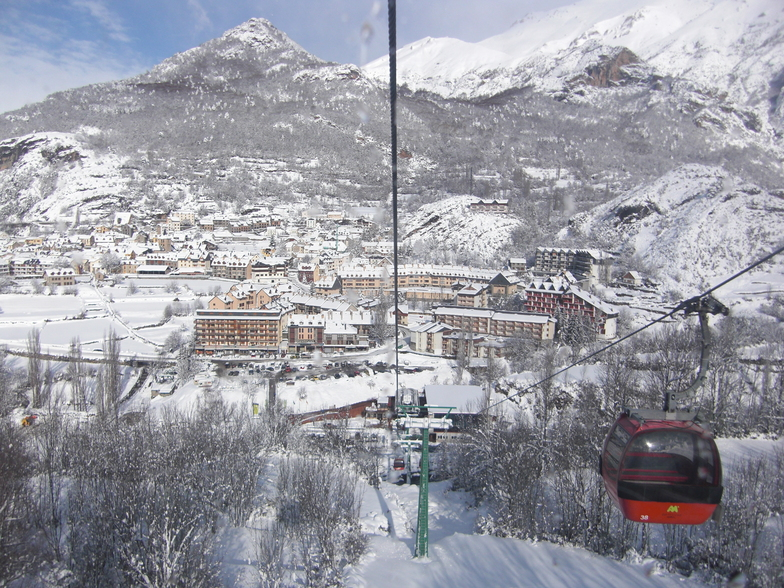 Panticosa snow
