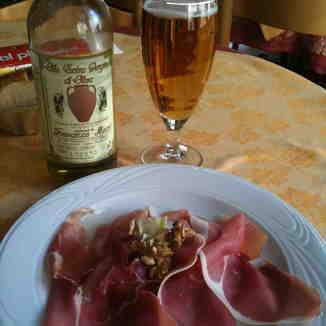 Lunch in Italian style, Zermatt