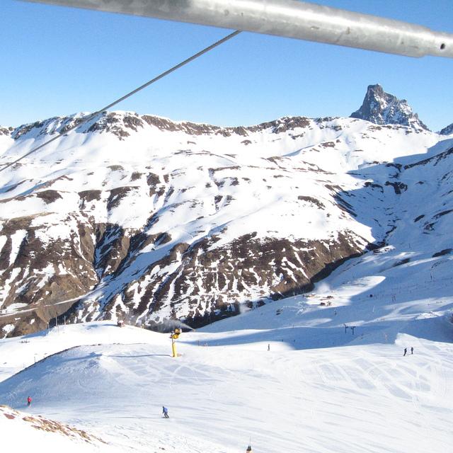 Astún Ski resort Spain