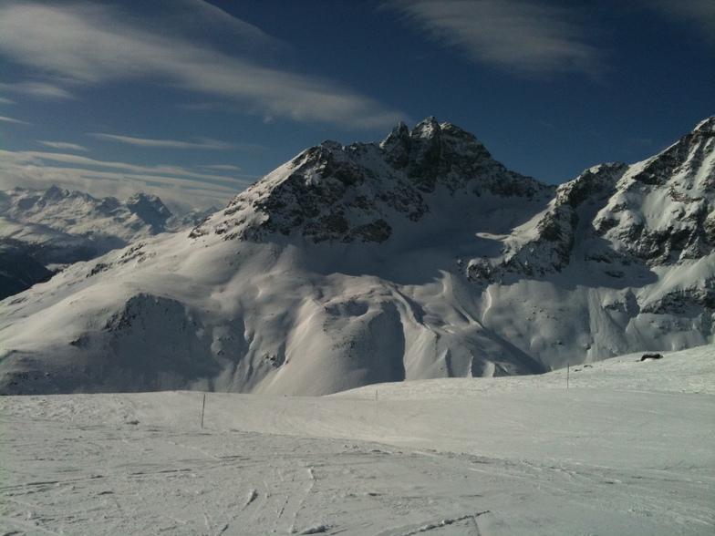 Pontresina/Engadin snow