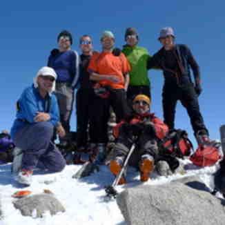 Ski tour on Picos De Europa