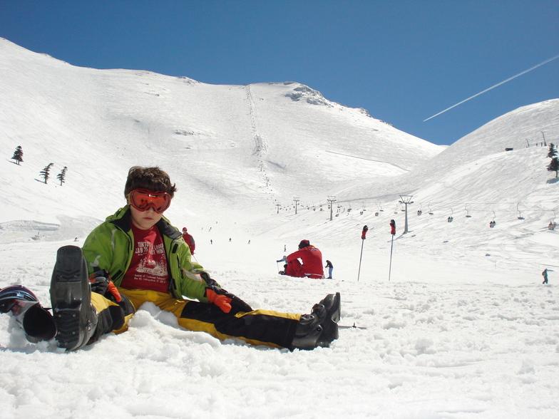 George Vembos Picture in Styga, Kalavryta Ski Resort