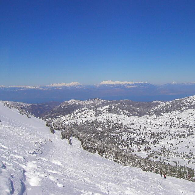 Sea View in Helmos, Kalavryta Ski Resort