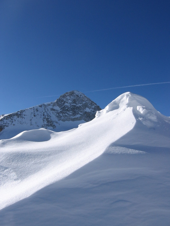 Hintertux, mountain and snow