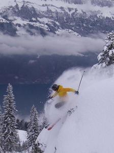 swiss pow pow, Flumserberg photo