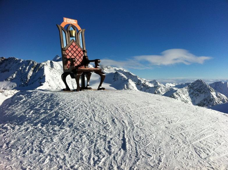 Throne at Stubai, Stubai Glacier