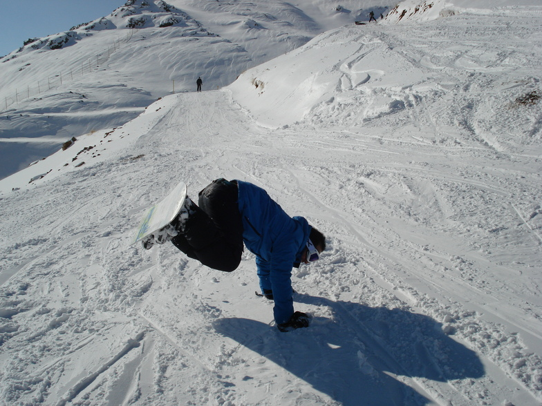 nima eshaghi, Mt Palandöken