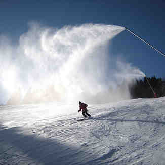 Snow cannon, Saint Gervais