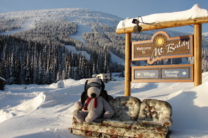 snoops says WOW POW not bow wow, Baldy Mountain Resort photo