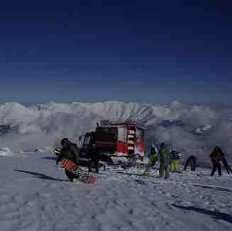 Snowcat Boarding, Popova Shapka