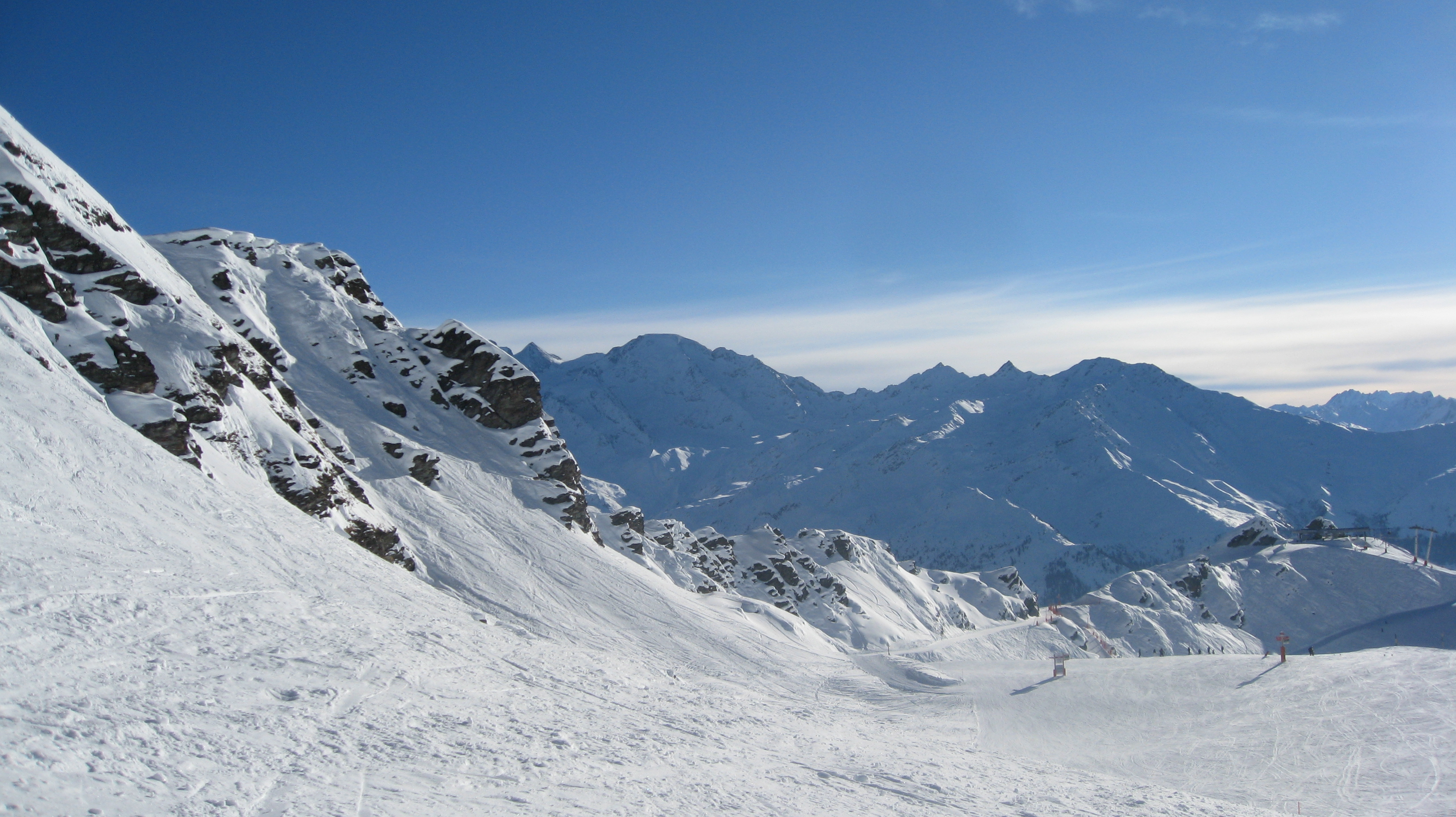 Just another day in paradise, Verbier
