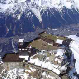 View from the Aiguille du Midi, Chamonix