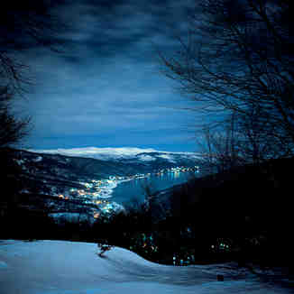 Above Night Skiing, Mavrovo-Zare Lazarevski