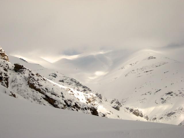 View of Tochal Summet