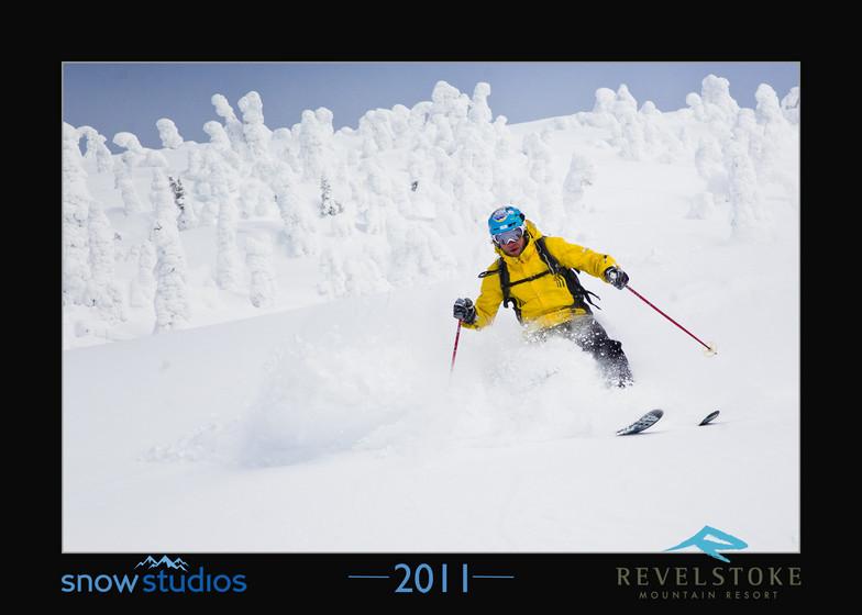 Revelstoke subpeak slay, Revelstoke Mountain Resort