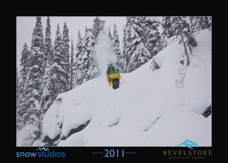 Revelstoke front flip, Revelstoke Mountain Resort