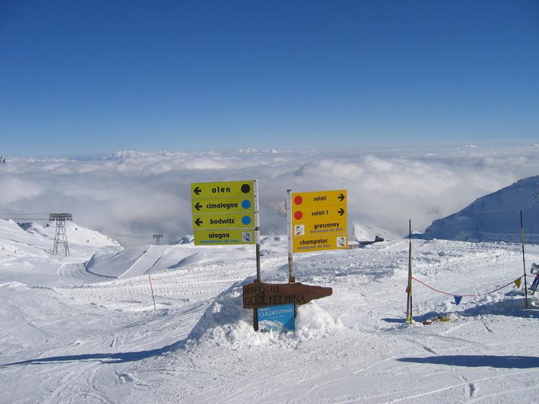 Alagna snow