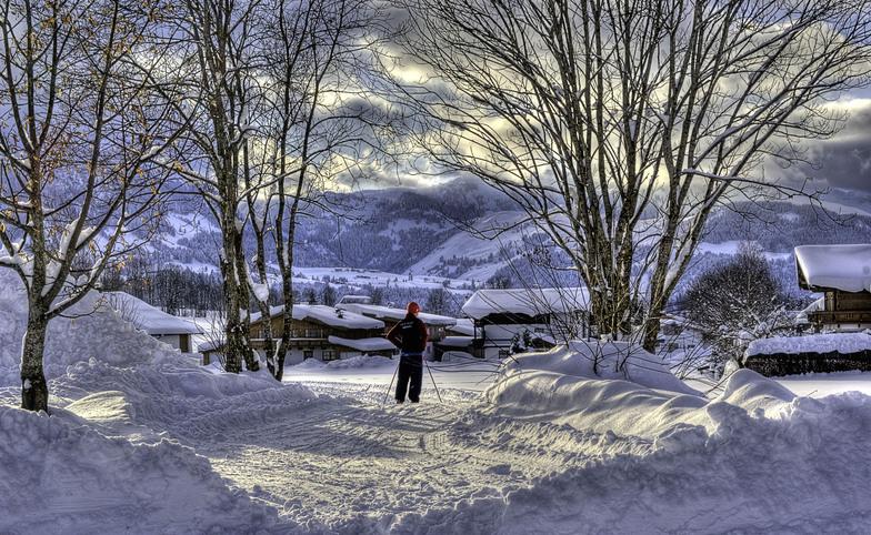 Fieberbrunn snow