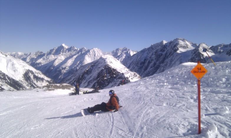 Home Run to resort, Stubai, Stubai Glacier