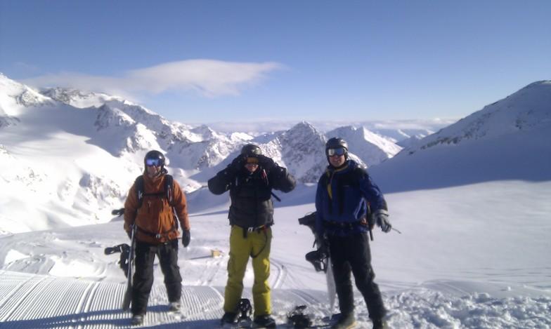 Schaufelspitze, Stubai, Stubai Glacier