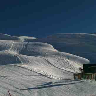 مسیر تله اسکی بشقابی مسابقه, Dizin