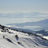 View from Gerontovrachos ski center (Parnasos mountain), Mount Parnassos