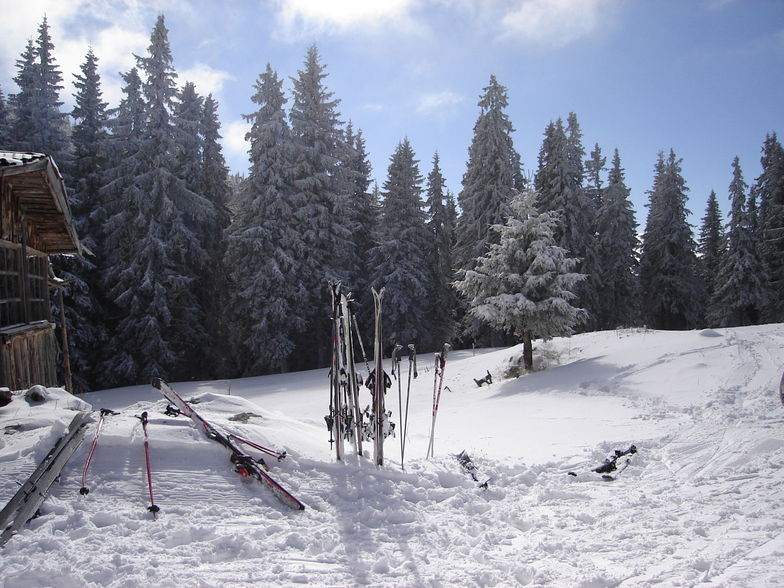 Even Skis Need A Break !!, Pamporovo