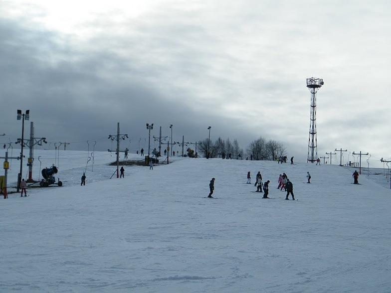 Kokova 2011.01.15, Kokava - línia