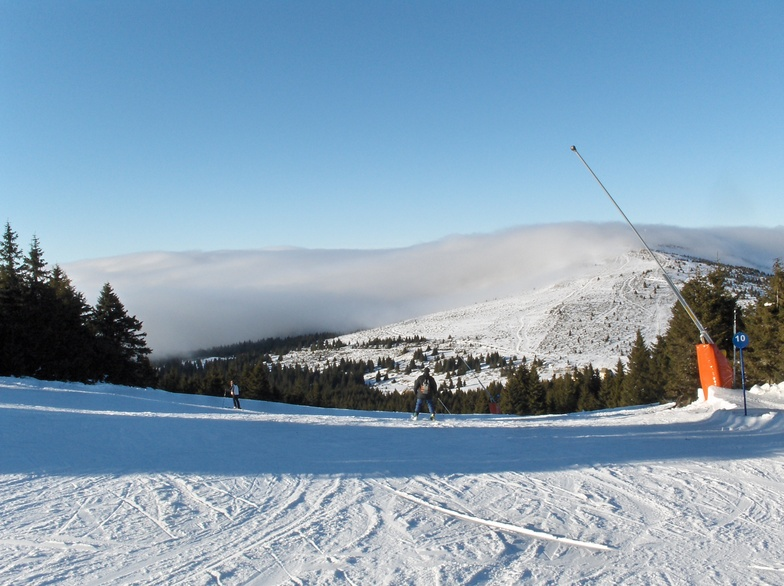 Together with the clouds, Kopaonik
