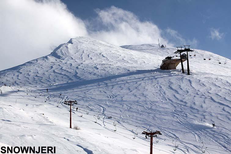 January in Breza, Brezovica