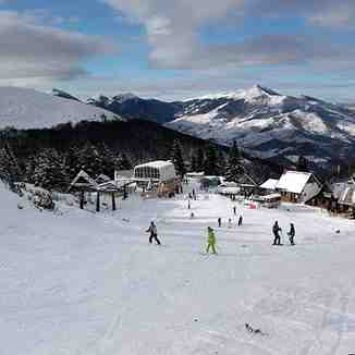 The center on the opening day, Brezovica
